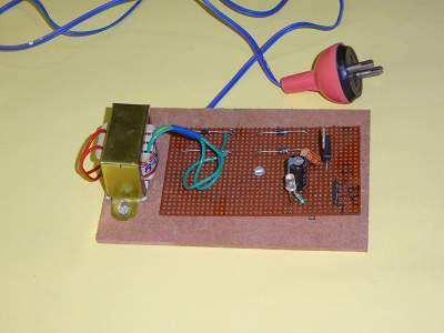 5V REGULATED POWER SUPPLY PROJECT