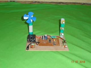 IR REMOTE CONTROL FAN AND LIGHT SWITCHING PROJECT