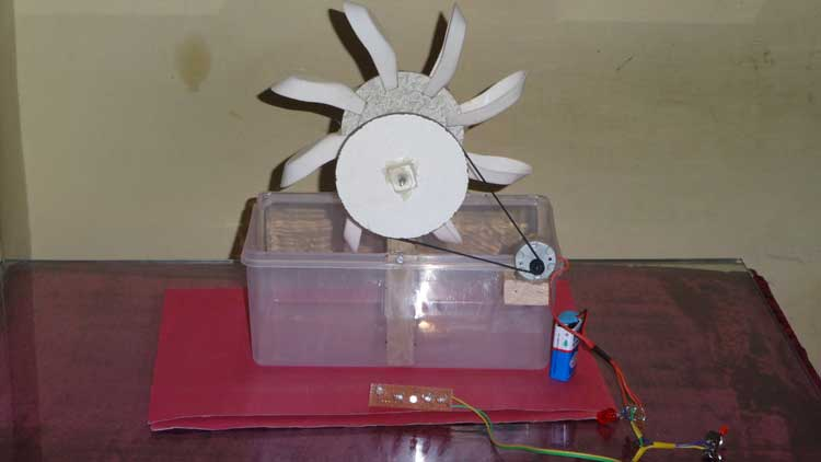 water turbine project