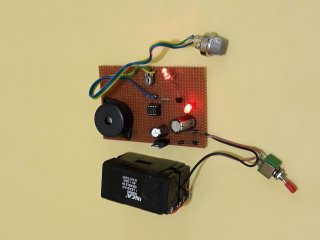 Alcohol Detector Project Using 358