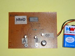 nand gate project